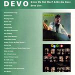 Q: Are We Not Men? A: We Are Devo! / Devo Live Devo