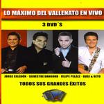 Lo Maximo Del Vallenato En Vivo (Dvd)
