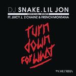 Turn Down For What (Featuring Lil Jon, Juicy J, 2 Chainz & French Montana) (Remix) (Cd Single) Dj Snake