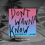 Don't Wanna Know (Featuring Kendrick Lamar) (Total Ape Remix) (Cd Single) Maroon 5