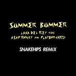 Summer Bummer (Featuring A$ap Rocky & Playboi Carti) (Snakehips Remix) (Cd Single) Lana Del Rey