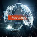 Routine (Featuring David Whistle) (Cd Single) Alan Walker