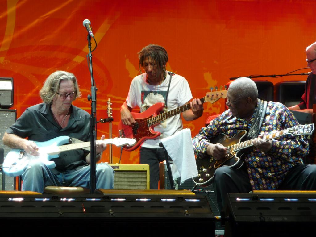 Foto de B.b. King And Eric Clapton  número 40561