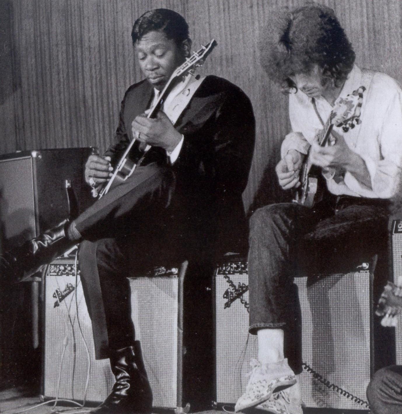 Foto de B.b. King And Eric Clapton  número 40562
