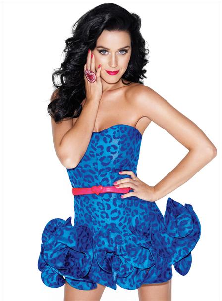 Foto de Katy Perry con peinado y sexy número 16840