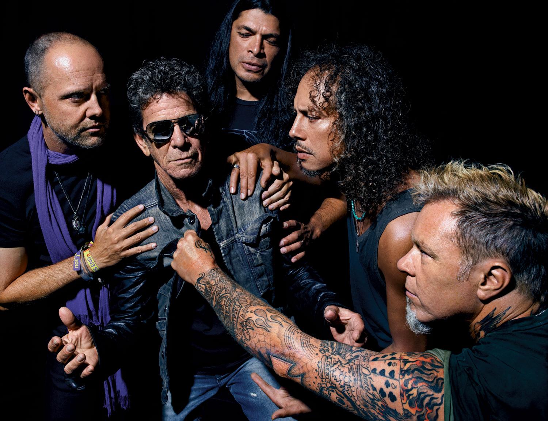 Foto de Metallica & Lou Reed  número 29940