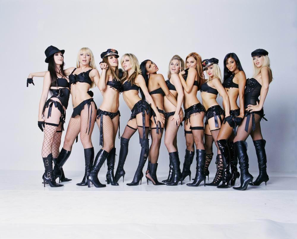 Las Pussy Cat Dolls presenta su coleccin de lencera