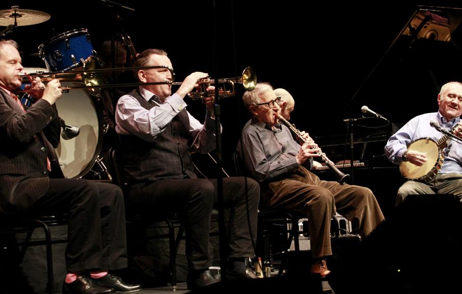 Foto de Woody Allen & His New Orleans Jazz Band  número 58028