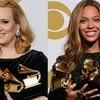 Adele gana a Beyoncé y arrasa en los Grammy 2017
