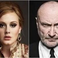 Adele rescata a Phil Collins