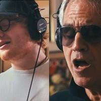 Andrea Bocelli con Ed Sheeran en otra versión de 'Perfect'