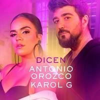Antonio Orozco con Karol G 'Dicen' video
