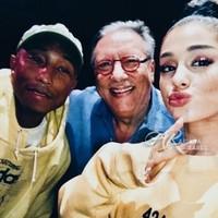 Ariana Grande con Arturo Sandoval y Pharrell Williams