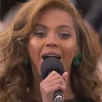 Beyoncé cantó para Obama