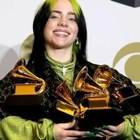 Billie Eilish triunfadora en los Grammys 2020, Rosalia y Alejandro Sanz gramófono