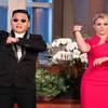 Britney Spears bailando el Gangnam Style