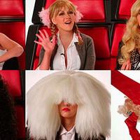 Christina Aguilera imita a Miley Cyrus, Gaga, Britney, Cher y Sia en The Voice