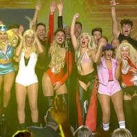 Cristina Aguilera maravillada por tributo en Got talent España