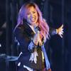 Demi Lovato graba nuevo disco en pleno tour