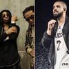 Drake de gira con Migos