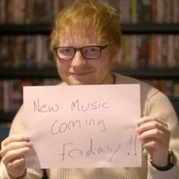 Ed Sheeran anuncia su inminente comeback