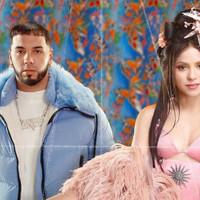 Escucha 'Me gusta' lo nuevo y polémico de Shakira con Anuel AA