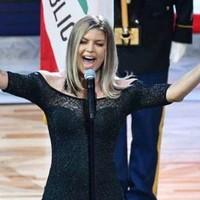 Fergie se disculpa por su interpretación del himno nacional