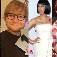 Ganadores de los iHeartRadio 2018