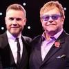 Gary Barlow & Elton John en 'Face to face'