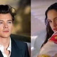 Harry Styles y Rosalía en 'Adore You'
