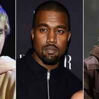 Kanye West, Justin Bieber y Drake pasan de los Grammy