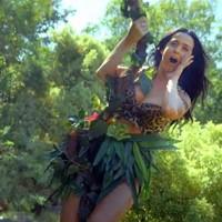 Katy Perry es Tarzán en el video de 'Roar'