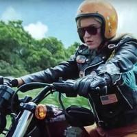 Katy Perry look motero en el video de 'Harleys en Hawaii'