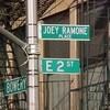 La placa de los Ramones, la más robada