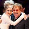 Lady Gaga al estudio con Elton John