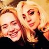 Lady Gaga y Adele ¿dueto a la vista?