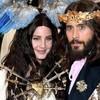 Lana del Rey y Jared Leto imagen vintage de fragancias Gucci
