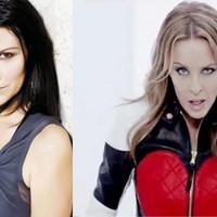 Laura Pausini y Kylie Minogue juntas en 'Limpio'