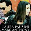 Laura Pausini y Marc Anthony en el video de 'Se fue'