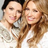 Laura Pausini y Thalia muy juntas en el video 'Sino a ti'