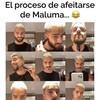 Maluma se quita barba y años