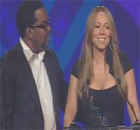 Mariah Carey recoge un premio con algunas copas de más
