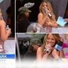 Mariah revienta el traje en directo
