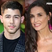 Nick Jonas tiene un romance con Demi Moore