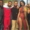 Rihanna avances calientes de la grabación de 'Work'