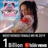 Rosalia llega al billón en Youtube 'Con altura'