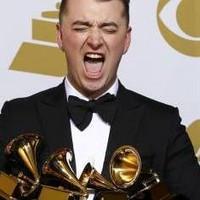 Sam Smith triunfador de los Grammy 2015