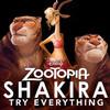 Shakira revela la portada de su single para 'Zootopia'