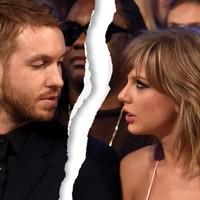 Taylor Swift y Calvin Harris rompen
