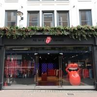 The Rolling Stones abren su primera tienda en Londres